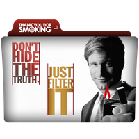 Thank You For Smoking Folder Icon by alacazain