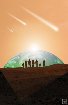 Mars Society 2013 Convention poster art by Ludo38
