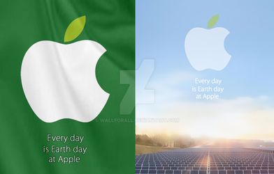 Earth day apple wallpaper package. by WallforAll