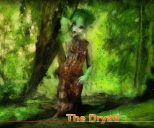 The little dryad girl by Cyberalbi