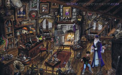 Harry Potter: Book 2 Chapter 12 Double-Painting by TheGeekCanPaint