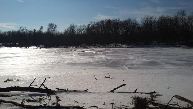 Frozen River During Daylight 3 by SharkGirl15