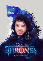 Game of Thrones 'Winter is coming' by pete-aeiko