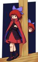 Sekibanki by GiantCaveMushroom