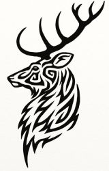 Stag Tattoo by Hareguizer