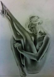 nude pose by Adaptic