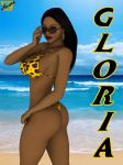 Gloria's Summertime Poster by ImfamousE