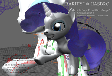 Rarity, Reimagined by S-White-Pony-Kidwell