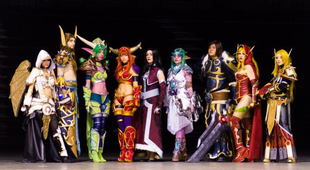 WOW! - World of Warcraft Cosplay group by alarzy