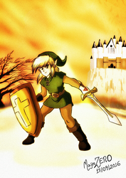 The Adventure of Link  by soteriosalles