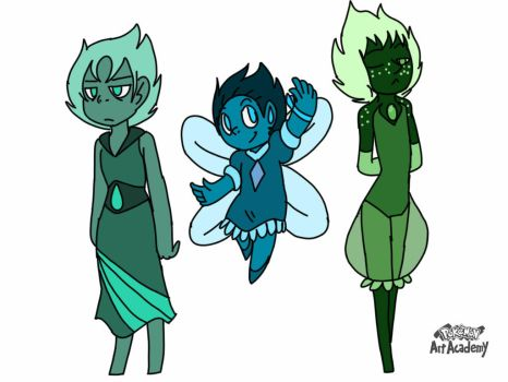 Gemsona Adopables Closed by samthefox