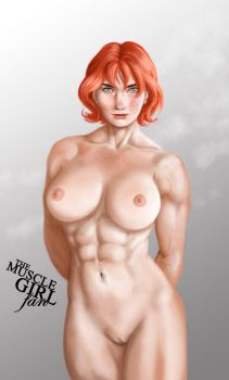 Red by The-Muscle-Girl-Fan