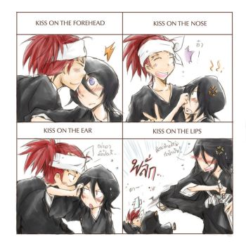 Kiss meme - RenRuki by hangdok