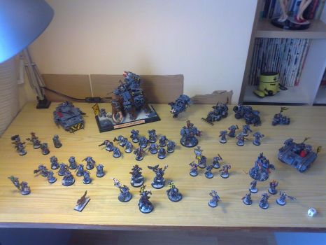 My Space Wolves Army by NachoMon