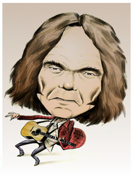 Neil Young by gregmcevoy