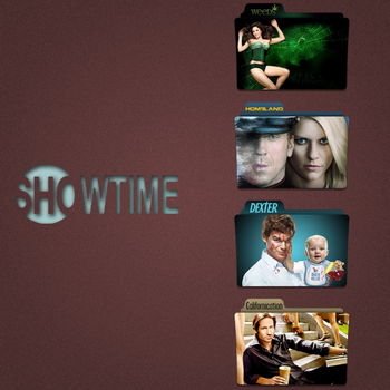 Showtime Folder Icon Pack by Kliesen