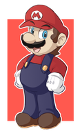 Super Mario! by EarthB-Kun