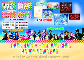 Happy +200 watches by Miriki-chan