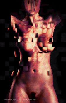 Reconstruct of beauty  II by mantradream