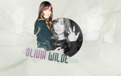 Olivia Wilde Wallpaper by 7th-sky