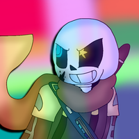 Ink Sans [+ SpeedPaint] by cjc728