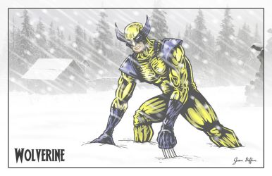 Wolverine: White Out by JesseGiffin