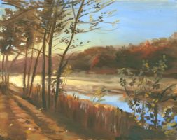 Peartle Springs at Dawn by discogangsta