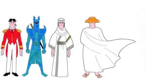 The Outfits of Samuari Jack IV by Nes44Nes