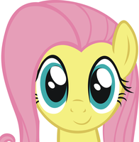 Fluttershy - Vector by M00nlightMagic