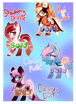 Lookit Dis Adopts OwO (OPEN) by Naughty-Savage