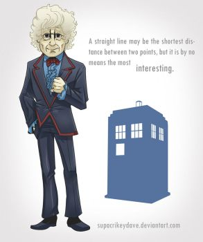 3rd Doctor by SupaCrikeyDave