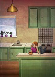 The Kitchen by delusional-dreams