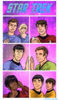 Star Trek TOS by TechnoRanma