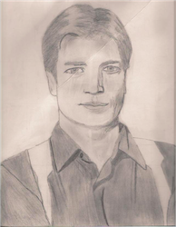 Nathan Fillion by LarkSevenZero