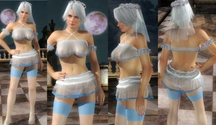 Christie Bride Skirt by funnybunny666
