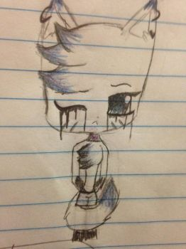 Sad faith or whatever idk by friskers-cat-fnaf