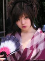 A portrait of a Japanese Girl by art-for-art