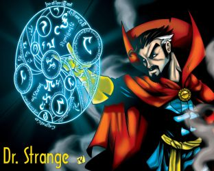 Dr STRANGE by TOKITOS
