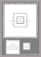 Stamp Templates Square by Bnspyrd