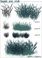 grassy place-Photoshop Brashes by lazulinus
