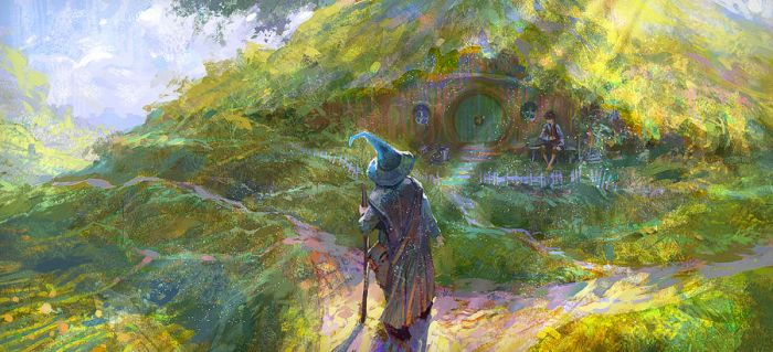 hobbit or there and back again by Andrei-Pervukhin