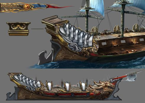 Dragon Eternity Ships-3 by AnDary
