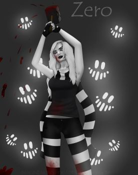 Creepypasta - Zero (+ Speedpaint) by ImaginemonsterVi