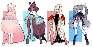 (CLOSED) Adoptables .o14 by Mymy-TaDa