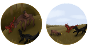 Hunting and Questing by Kidakins