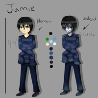 CPOC: Jamie Reference Sheet by L0ra2