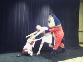 Teddie To The Rescue by MariSanomaFanFic