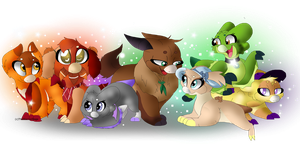 All My Wynglings by TheWarriorDogs