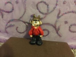 Eddsworld Tord Clay Figure (FOR SALE) by Take-Out-The-TrashXD