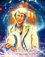 Doctor Who - Peter Davidson by Kachumi